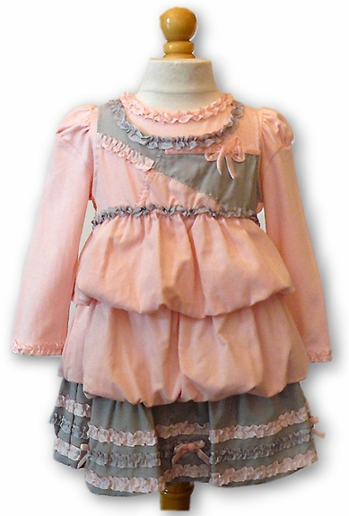 Biscotti Dress- Sizes 9m,18m, & 24m Left Only!