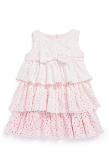 Biscotti Dresses -*Eyelet Blush* Sizes 2T to 6x