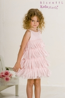 Biscotti Dresses *Flirty Fringe* Layered Tiered Dress -Sizes