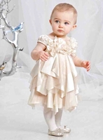 Biscotti Dresses *Glimmer in Gold* Size 2