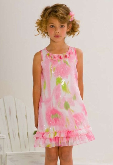 Biscotti Dresses *Monet's Garden* Sizes 5 to 10