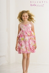 Biscotti Dresses *Monet's Garden* Sizes 7-8 & 14 Left Only!