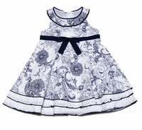 Biscotti Dresses *Out of the Blue* Navy Size- 24m