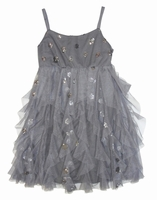 Biscotti Dresses *Shiny Bubbles* Sparkly Netted Dress - Only size 8 left!