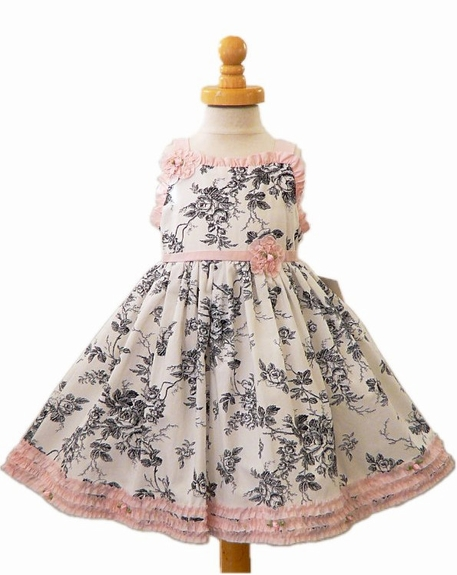 Biscotti Dresses*Timeless Toile*Dress, Size 24m Left Only!