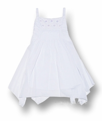Biscotti Dresses *White Beach Portrait Dress* Sizes 7 to 14