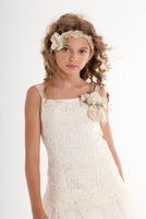 Biscotti Fairytale Romance Dress, Ivory