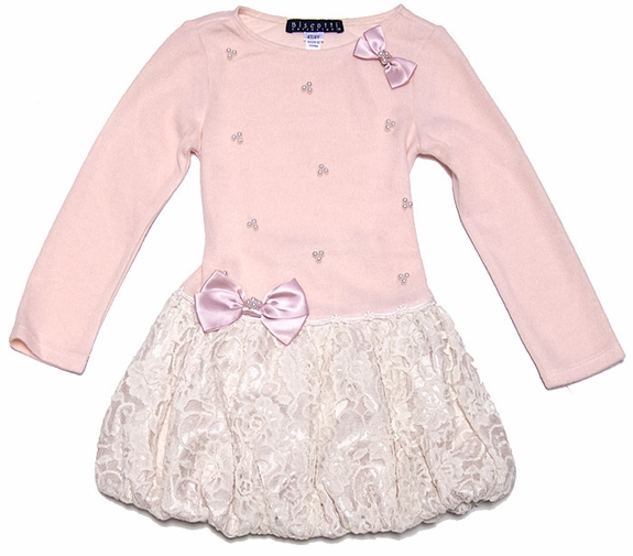 Biscotti Girl's Anastasia Dress, Pink - Sizes 2 to 5