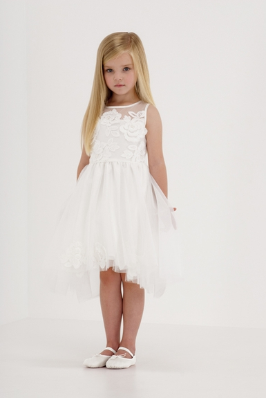 Biscotti Wedding Party Hi-Low Dress - 4 to 12