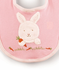 Bunnies By The Bay - Bundle Bib - Pink