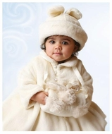 Bunnies By The Bay *Glad Dreams Coat* 3-Piece Set!-Coat-Hat-Muff