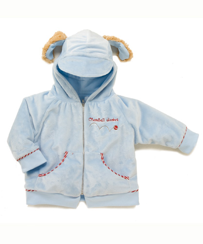 Bunnies By The Bay-New! Skipit's Chaseball Jacket