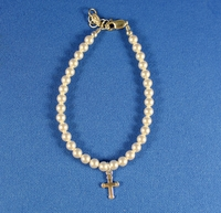 Communion Pearl Bracelet- Sterling and Freshwater Pearl
