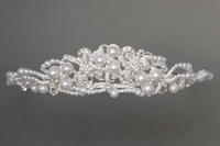 Communion Veil/Head Piece -with or with-out attached veil *2663*