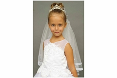 Communion Veil/Head Piece -with or with-out attached veil