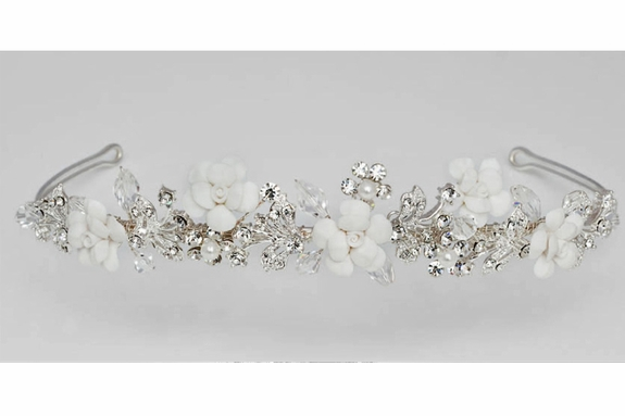 Communion Veil Headpiece - 2232 - with or with-out attached veil