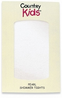 Country Kids - First Holy Communion Pearl Shimmer Tights-