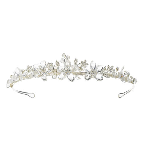 Crystal Head Piece- order with or with out attached veil
