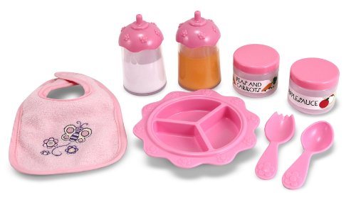 Doll Accessory-  Time to Eat Feeding Set- Mine to love!