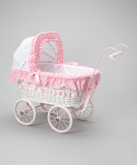 Alexandra *Wicker Doll Carriage*