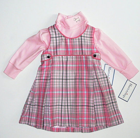 Hartstrings - 2PC ,Top &Dress Size 2T - 4T