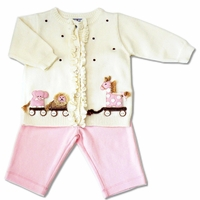 Hartstrings Baby -2PC Sweater & Pant -Size 3-6m