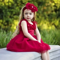 Haute Baby - Time to Sparkle Big Girl Dress 4t