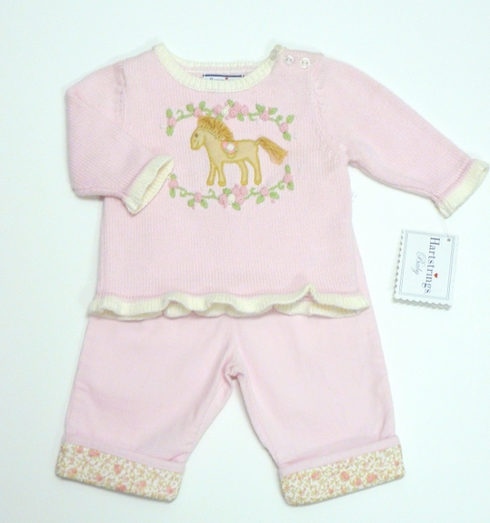 Heart Strings - 2pc set - Pants and Sweater SOLDOUT!