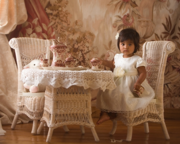 Heirloom Child Size Table and Chair Set