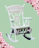 Heirloom Rocking Chair-Hand Painted