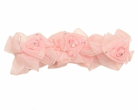 Jewel Cameo Pink Baby Hair Band