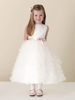 Joan Calabrese -  110306-Sleeveless,Satin and Soft Tulle-