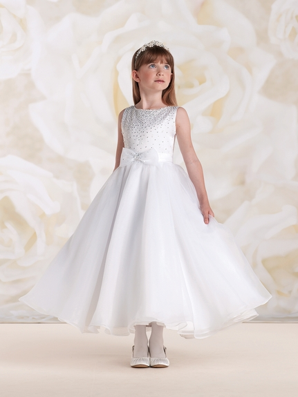 Joan Calabrese *115310* Satin and Organza- Also available in Half Sizes