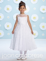 Joan Calabrese-116375- Communion Dress-Satin,Tulle and Lace