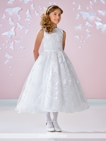 Joan Calabrese 117334-Communion Dress-available in Half Sizes