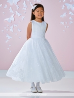 Joan Calabrese 117343 Communion Dress Available in Half Sizes