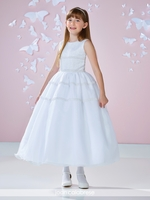 Joan Calabrese 117345-Communion Dress Hand Beaded
