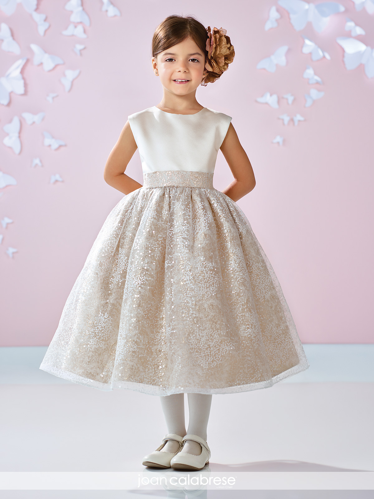 Joan Calabrese 117351 Flower Girl Dress