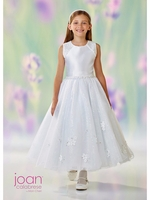 Joan Calabrese-118314-Communion/Flower Girl-Sequin & Tulle-White Only