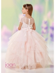 Joan Calabrese-118315 Communion/Flower Girl-Satin & Tulle -Color Selection