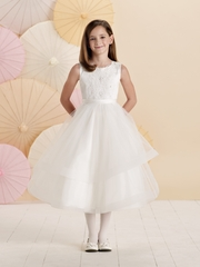 Joan Calabrese *214376* Sleeveless satin, lace and tulle