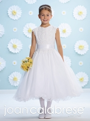 Joan Calabrese-215339 -Venis Lace and Tulle-Lovely in white for Communion