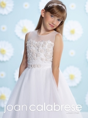 Joan Calabrese-Communion Dress-116382- Hand Beading-Discontinued Quantities are Limited