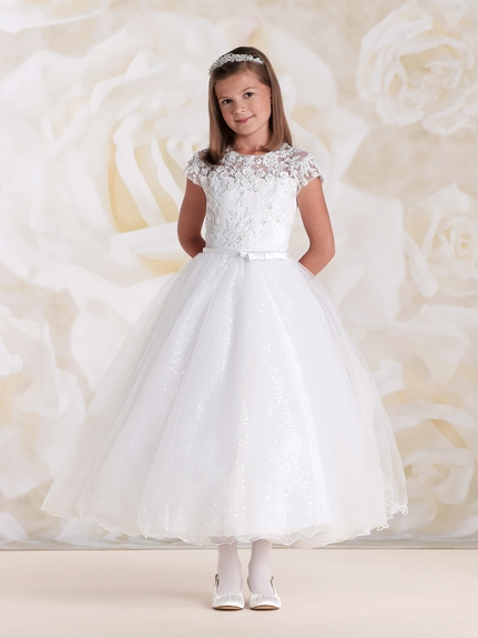 Joan Calabrese First Holy Communion & Flower Girl Dresses- CLICK ON PHOTO TO SEE FULL COLLECTION!