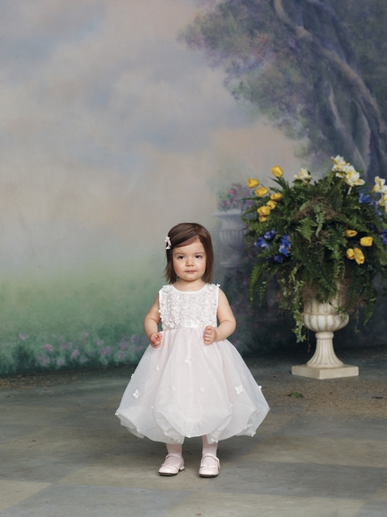 Joan Calabrese- *Satin & Tulle Ballerina Dress* Sizes 6m to 4