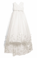 Joan Calabrese - Tulle & Taffeta Floor Length Dress