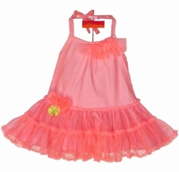"Kate Mack ""Aloha Rose"" Coral - 9m 12m 24m"