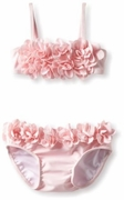 Kate Mack *Blooming Roses* Pink Swim Baby Bikini -6M only