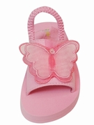 Kate Mack 'Butterfly Ballet' Toddler Sandal 4-9