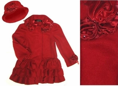 Kate Mack Coat *Polar Fleece Rose*